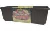 Samozavlažovací truhlík SIESTA LUX 40 cm - Čokoláda