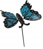 Motýl modrý na tyčce / CH8430