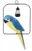 Papoušek na houpačce s lampičkou / CH9819