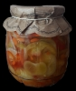 Salát se zeleným rajčetem 640g (baleno po 6ks)