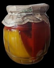Sterilovaná paprika 640g (baleno po 6ks)