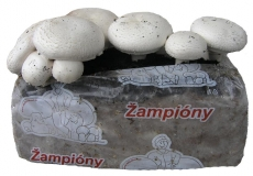 Žampionový substrát 15l - cca. 8kg